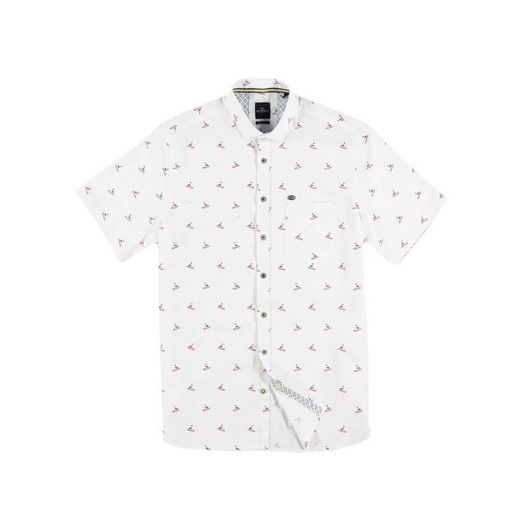 sommerliches Hemd mit Comfort-Stretch-Anteil