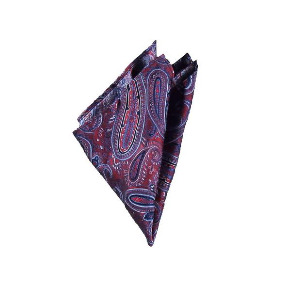 Modisches Einstecktuch mit Paisley-Muster