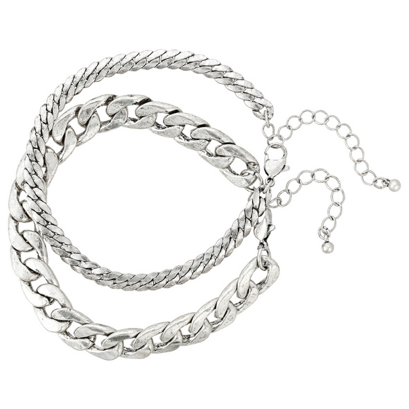 Herren Armband-Set - Duo Chain