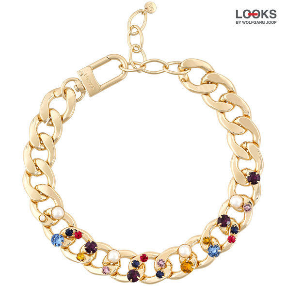 Statement Kette - Coloured Luck