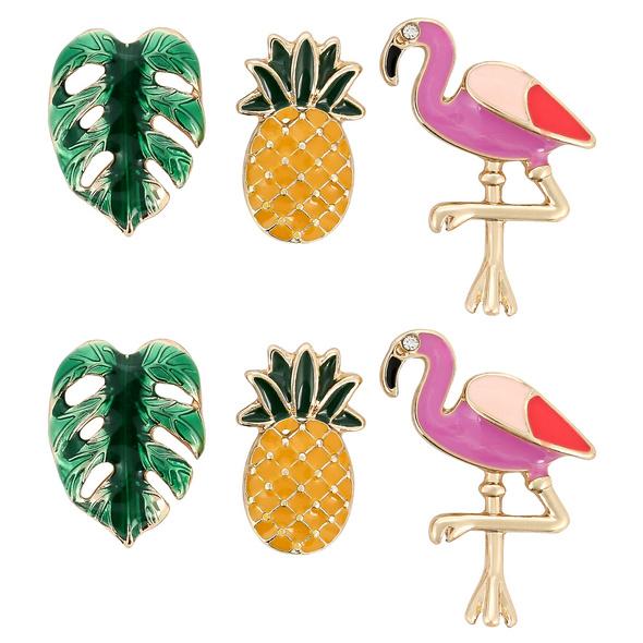 Ohrstecker-Set - Lovely Pineapple
