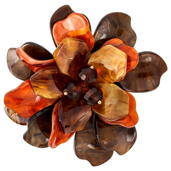Brosche - Wild Flower