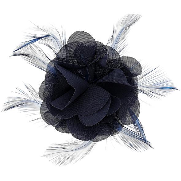 Haarspange - Gloomy Blue