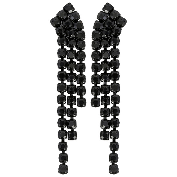 Ohrstecker - Black Curve