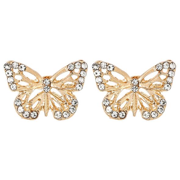 Ohrstecker - Golden Butterfly