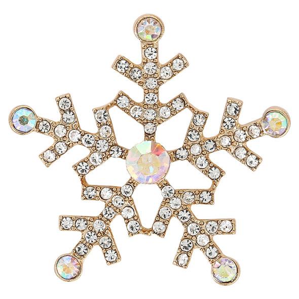Brosche - Snowflake