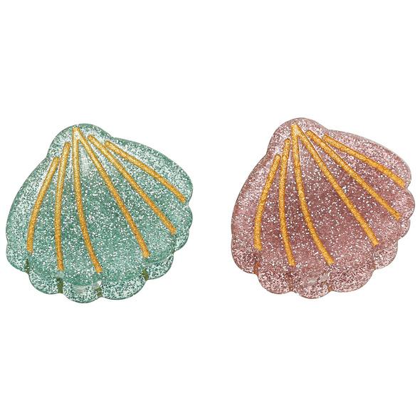 Haarspangen-Set - Duo Shell