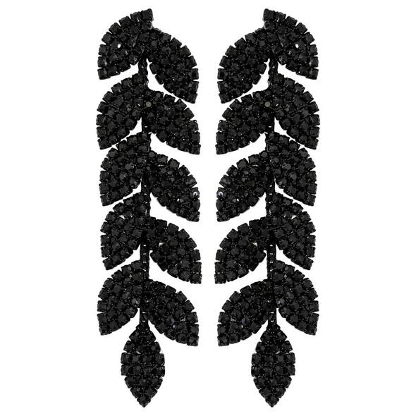 Ohrstecker - Black Crystals
