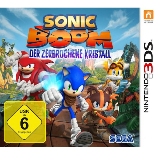 Sonic Boom Der zebrochene Kristall