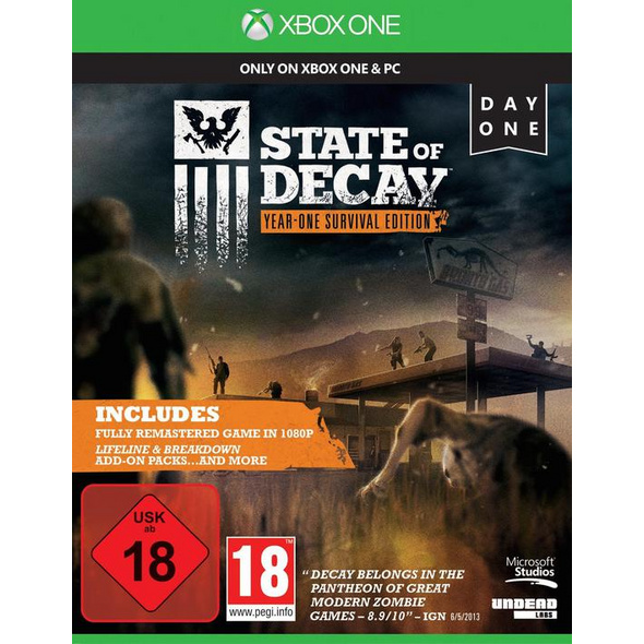 State of Decay - Year-One-Survival Edition
