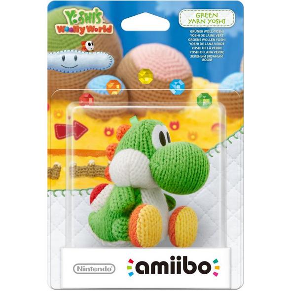 amiibo Figur Woll-Yoshi grün