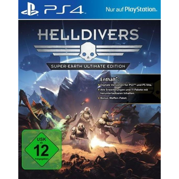 PS4 Helldivers Super-Earth