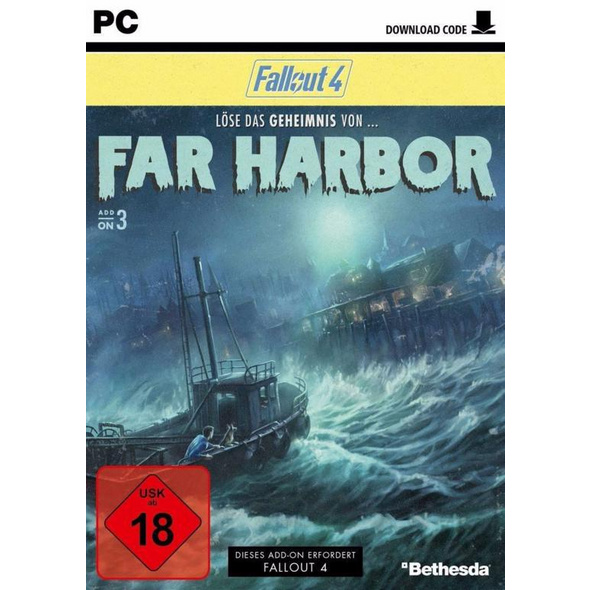Fallout 4 - Far Harbor (Code in a Box)