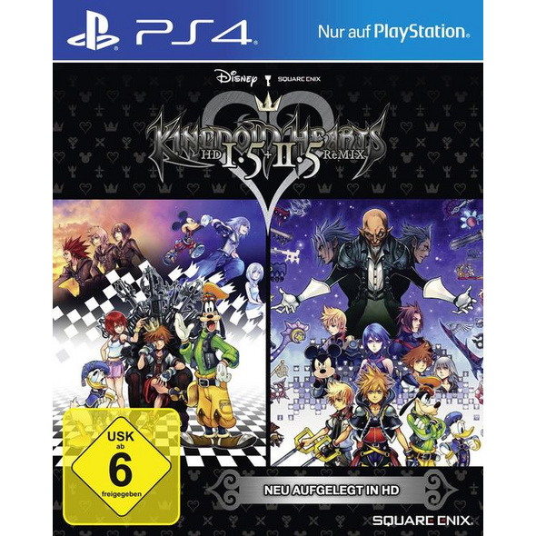 Kingdom Hearts HD 1.5 & 2.5 Remix