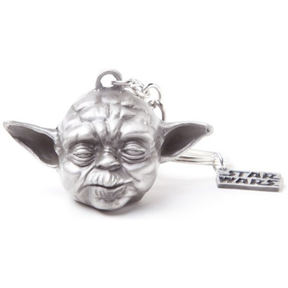 Star Wars - Schlüsselanhänger Yoda 3D