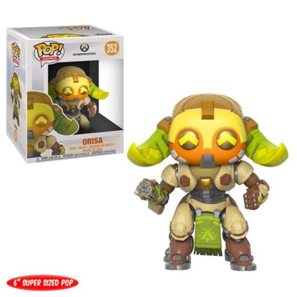 Overwatch - POP! Vinyl-Figur Orisa (Super Size)