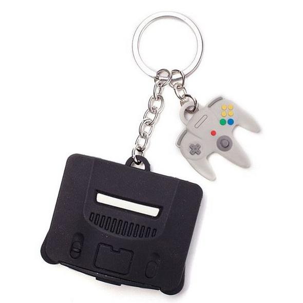 Nintendo - Schlüsselanhänger Nintendo 64 & Controller