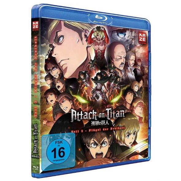 Attack on Titan 2 - Flügel der Freiheit (Blu-Ray)