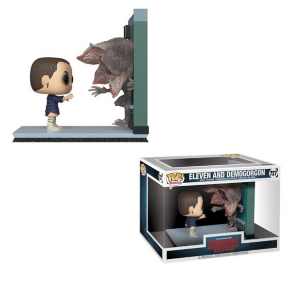 Stranger Things - POP!-Vinyl Figur Eleven & Demogorgon