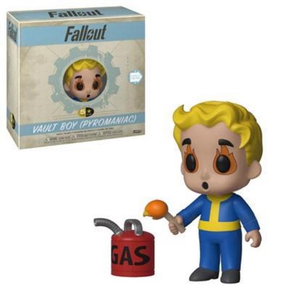 Fallout - 5 Star Vinyl Figur Vault Boy Pyromaniac