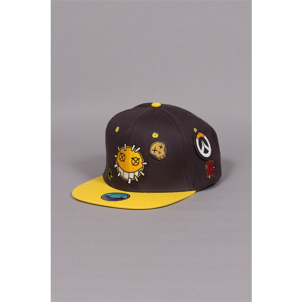 Overwatch - Snapback Junkrat Patches