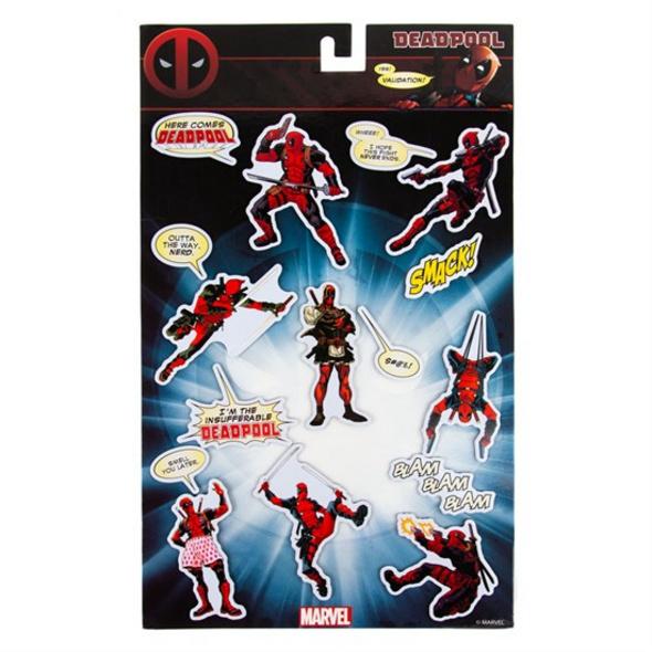 Marvel Deadpool - Magnet Set