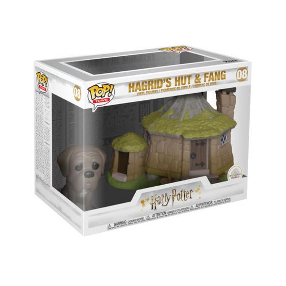 Harry Potter - POP!-Vinyl Figur Fang & Hagrid's Hütte
