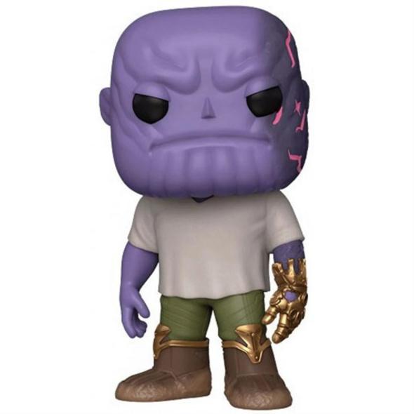 Avengers Endgame - POP!-Vinyl Figur Thanos mit Gauntlet