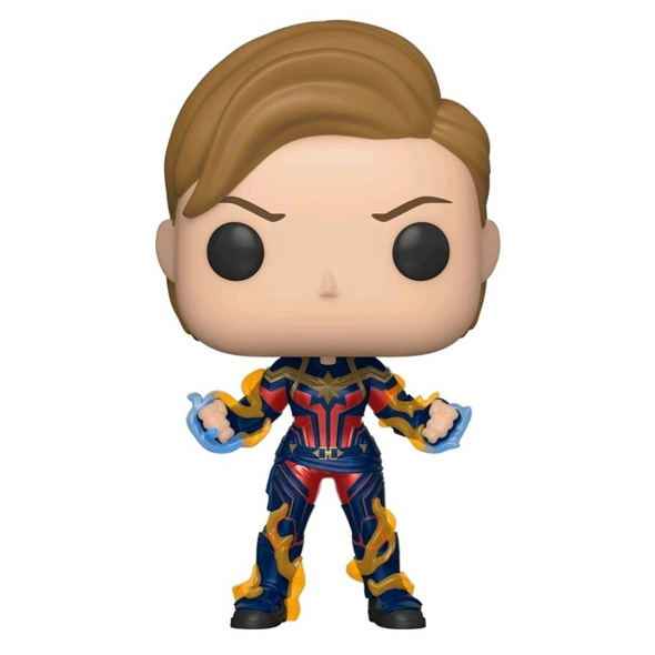 Avengers 4: Endgame - POP!-Vinyl Figur Captain Marvel