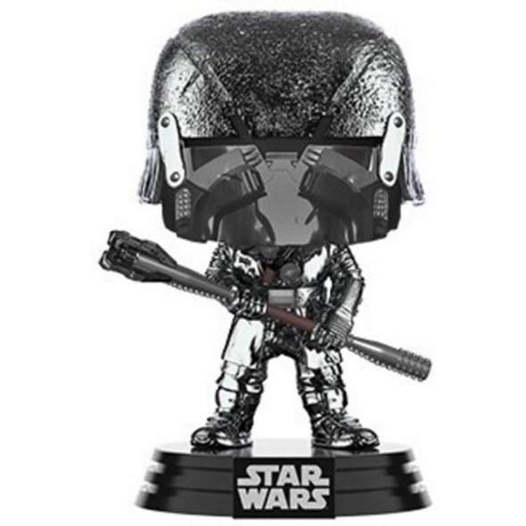 Star Wars - POP!-Vinyl Figur Ritter von Ren Keule(Chrome)