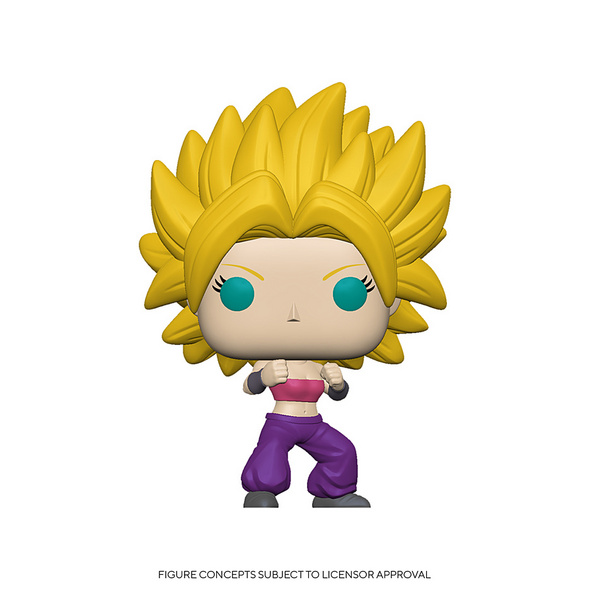 Dragon Ball Super - POP!-Vinyl Figur Super-Saiyajin Caulifla