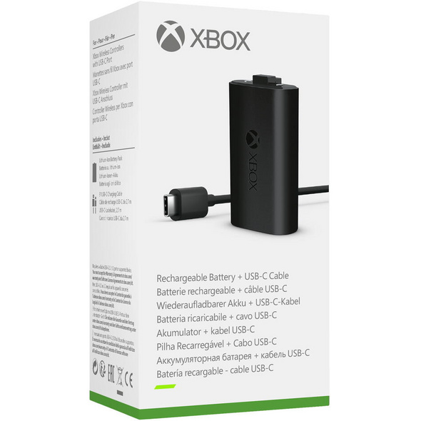 Xbox Play & Charge Kit (kompatibel mit der Xbox Series X/S)
