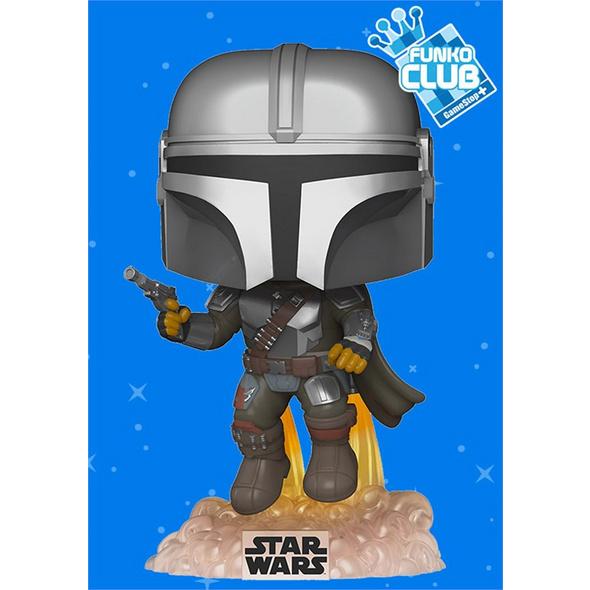 Star Wars - POP!-Vinyl Figur Mando Jet (Funko Club exklusiv!)