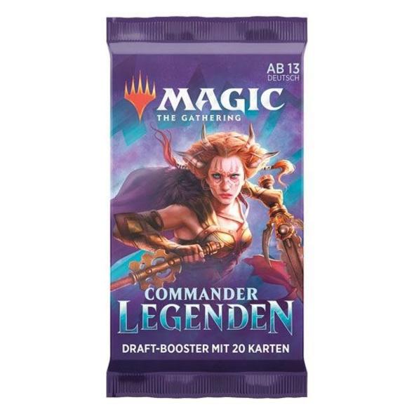 Magic the Gathering: Commander Legenden Draft-Booster
