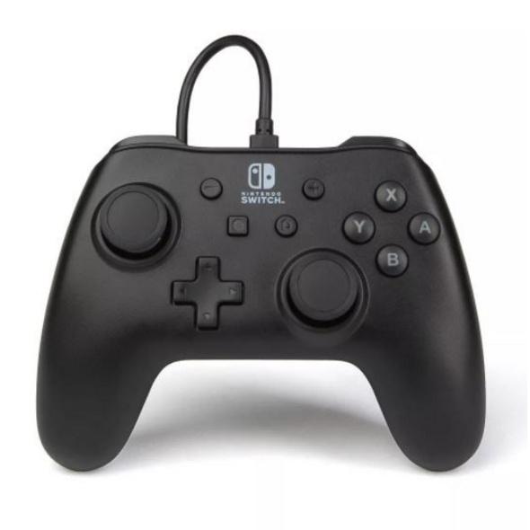 Nintendo Switch PowerA Wired Controller Schwarz