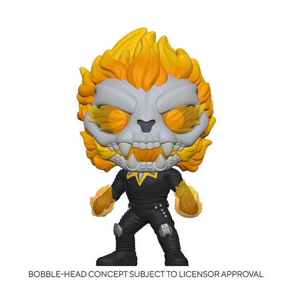 Marvel Infinity Warps - POP!-Vinyl Figur Ghost Panther