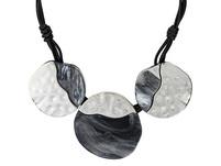 Kette - Hammered Marble