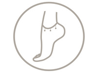 Fußkettchen -  Fine Arrow