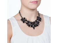 Collier - Anthracite Flowers