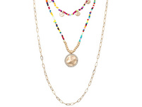 Layering Kette - Sparkling Coin
