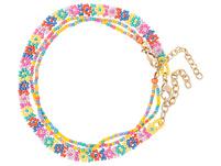 Fußkettchen-Set - Rainbow Flowers