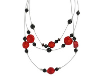 Kette - Red Stones