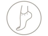 Fußkettchen - Five Silver Pearls