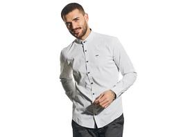 Modisches Langarmhemd mit Minimal-Print